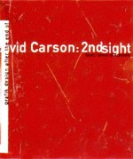 Cover, David Carson: 2nd Sight © Universe Publishing 1997