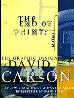 Cover, The End Of Print © 1995 Chronicle Books