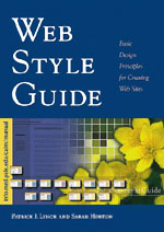 Cover, Web Style Guide © 1999 Yale University Press